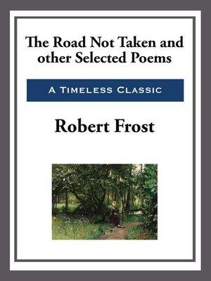 cover image of The Road Not Taken and Other Selected Poems