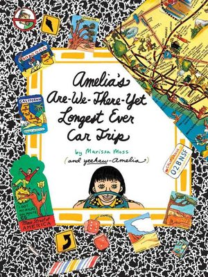cover image of Amelia's Are-We-There-Yet Longest Ever Car Trip