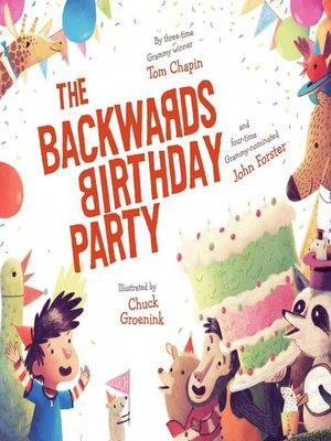 cover image of The Backwards Birthday Party
