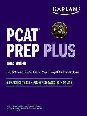 cover image of PCAT Prep Plus