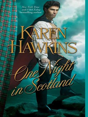 cover image of One Night in Scotland