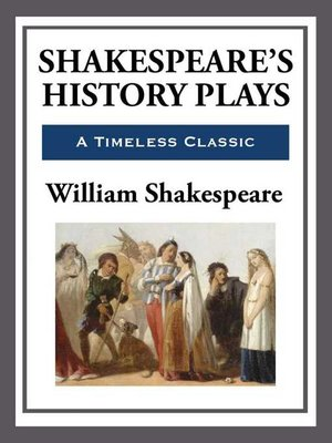 cover image of Shakespeare's History Plays