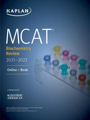 cover image of MCAT Biochemistry Review 2021-2022