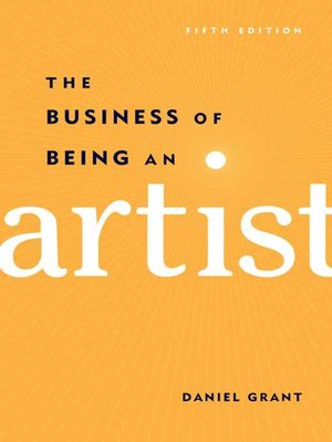 cover image of The Business of Being an Artist