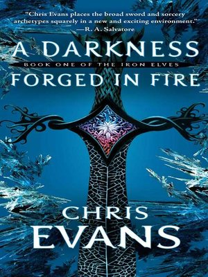 cover image of A Darkness Forged in Fire