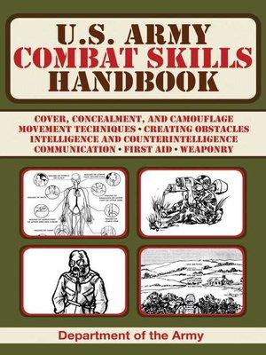 cover image of U.S. Army Combat Skills Handbook