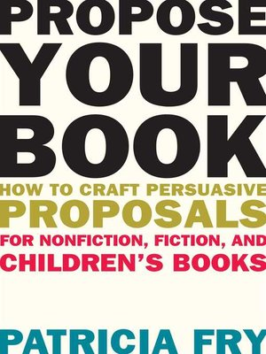 cover image of Propose Your Book