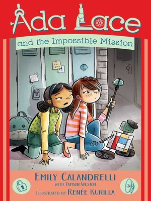 cover image of Ada Lace and the Impossible Mission