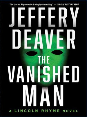 cover image of The Vanished Man