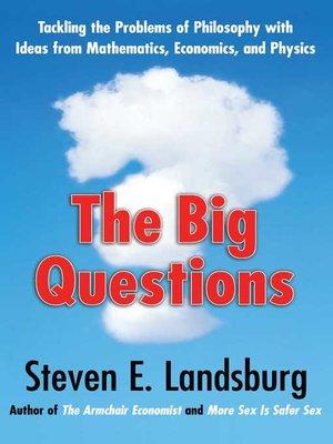 Steven E Landsburg 183 Overdrive Rakuten Overdrive