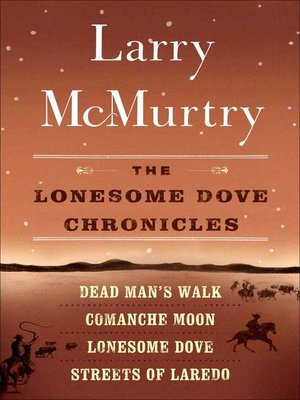 cover image of The Lonesome Dove Series