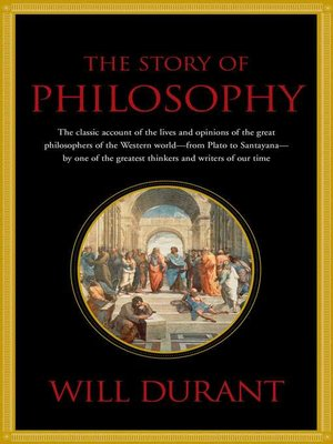 cover image of The Story of Philosophy
