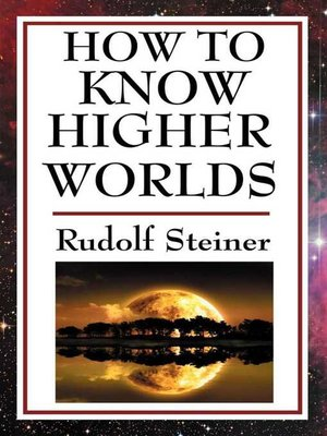 cover image of How to Know Higher Worlds