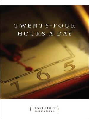 cover image of Twenty-Four Hours a Day