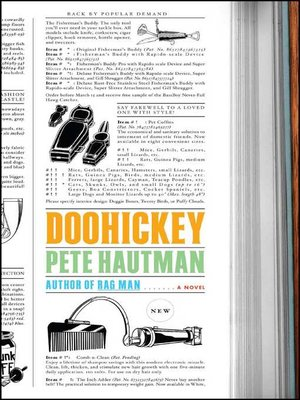 cover image of Doohickey