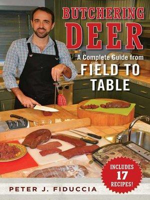 cover image of Butchering Deer