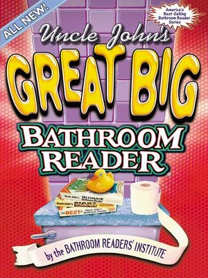 cover image of Uncle John's Great Big Bathroom Reader