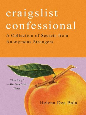 Craigslist Confessional Book Cover