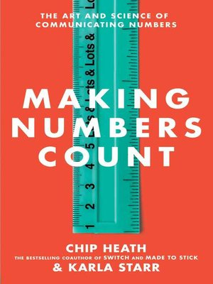 cover image of Making Numbers Count