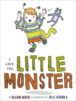 cover image of I Love You, Little Monster