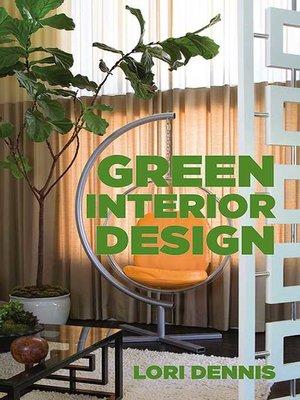 cover image of Green Interior Design