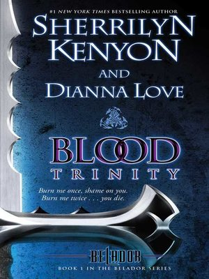 cover image of Blood Trinity