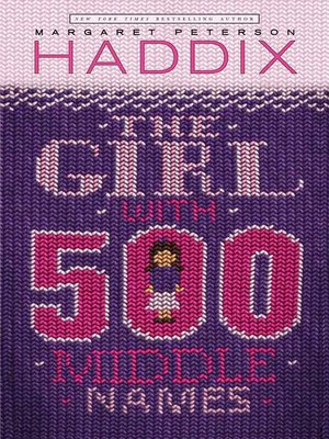 cover image of The Girl with 500 Middle Names