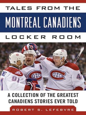 cover image of Tales from the Montreal Canadiens Locker Room