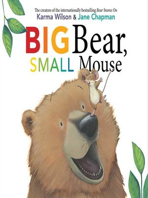 cover image of Big Bear, Small Mouse