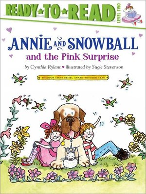 cover image of Annie and Snowball and the Pink Surprise