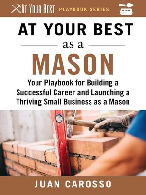 cover image of At Your Best as a Mason