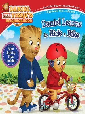 cover image of Daniel Learns to Ride a Bike