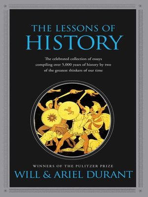 cover image of The Lessons of History