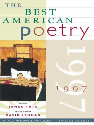 cover image of The Best American Poetry 1997