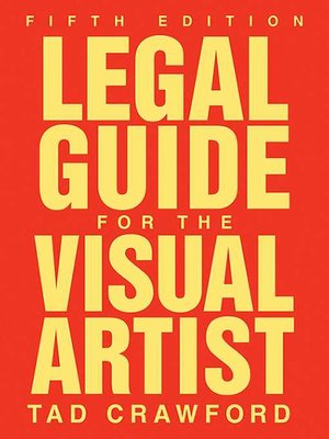 cover image of Legal Guide for the Visual Artist