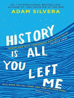 History Is All You Left Me By Adam Silvera Overdrive Rakuten