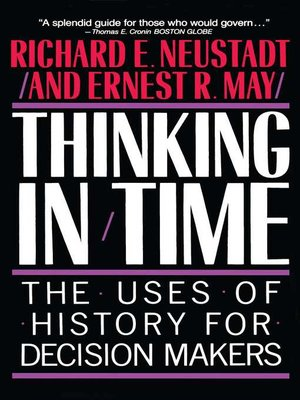 cover image of Thinking in Time