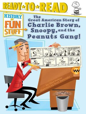 cover image of The Great American Story of Charlie Brown, Snoopy, and the Peanuts Gang!