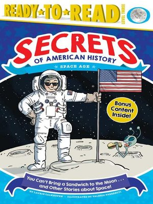 cover image of You Can't Bring a Sandwich to the Moon . . . and Other Stories about Space!