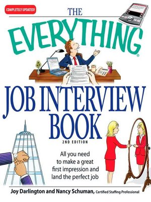 cover image of The Everything Job Interview Book