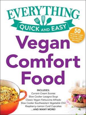 cover image of Vegan Comfort Food