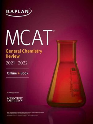 cover image of MCAT General Chemistry Review 2021-2022