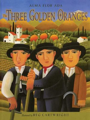 cover image of The Three Golden Oranges
