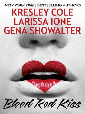 cover image of Blood Red Kiss