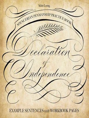 cover image of Spencerian Penmanship Practice Book