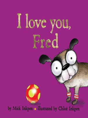 cover image of I Love You, Fred