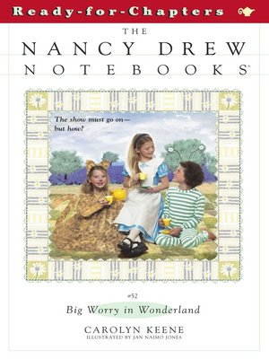 cover image of Big Worry in Wonderland