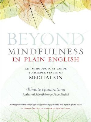 cover image of Beyond Mindfulness in Plain English