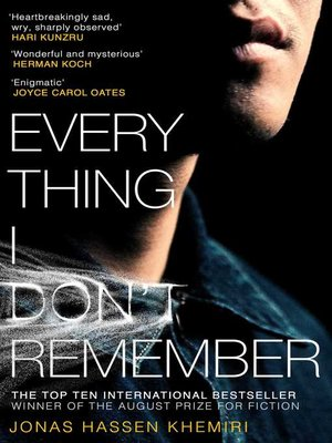 cover image of Everything I Don't Remember