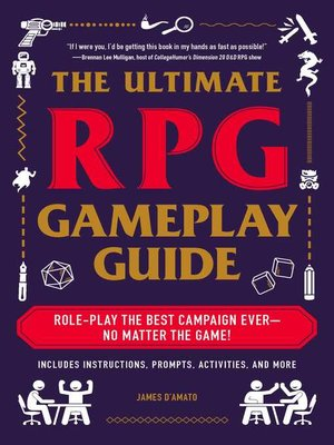 cover image of The Ultimate RPG Gameplay Guide